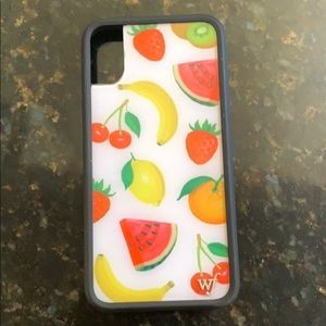 Iphone X Wildflower Phone Case
